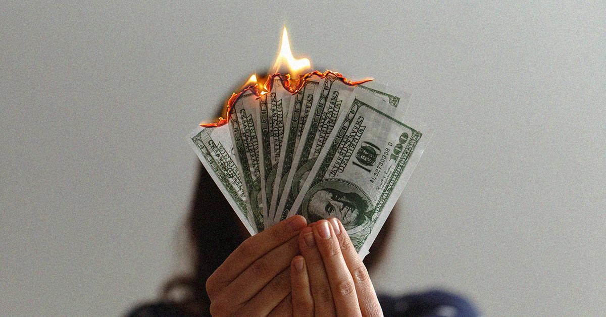 Brandend Geld