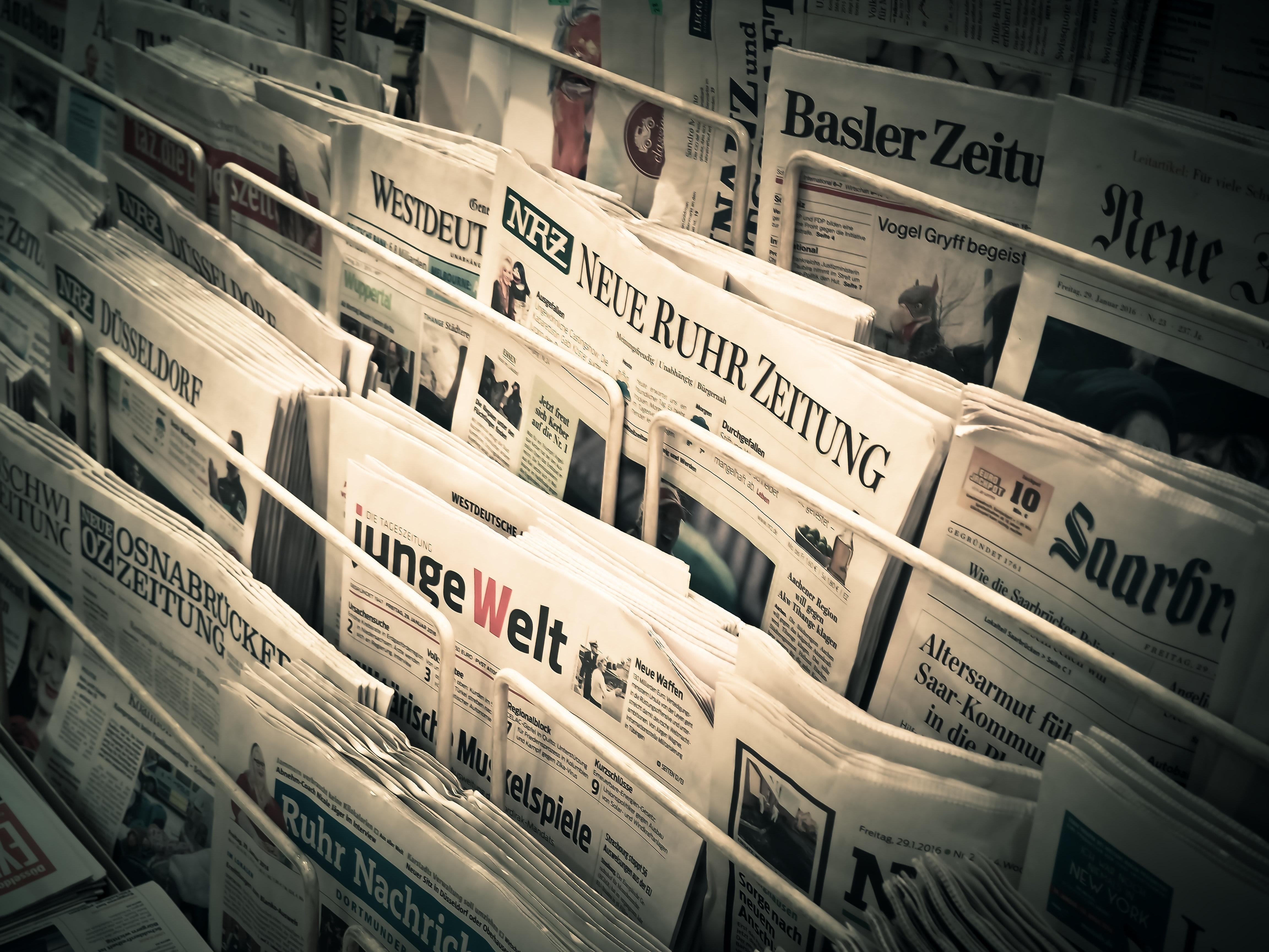 Im Nebenjob Geld verdienen mit Zeitung austragen