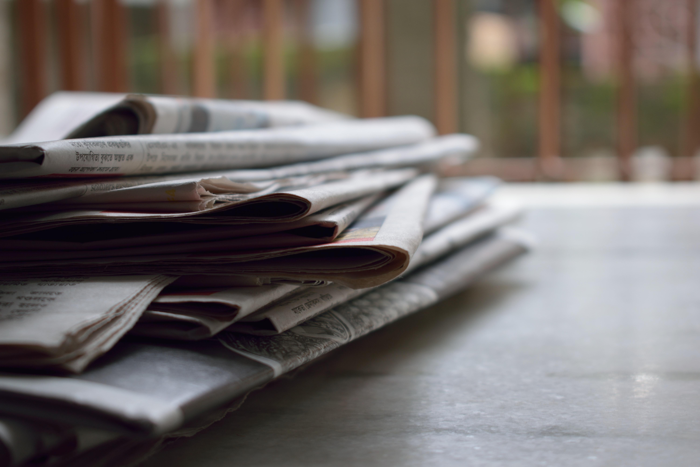 Zeitungen verteilen ist ein beliebter Schülerjob