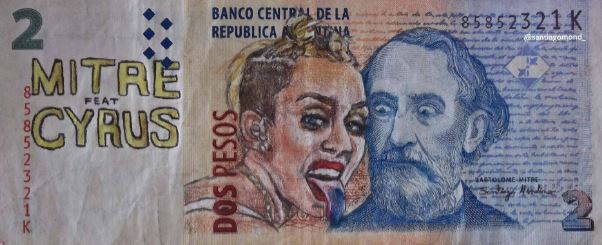 dos pesos with painting