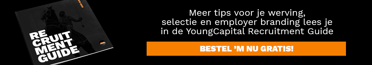 bestel youngcapital recruitment guide nu gratis