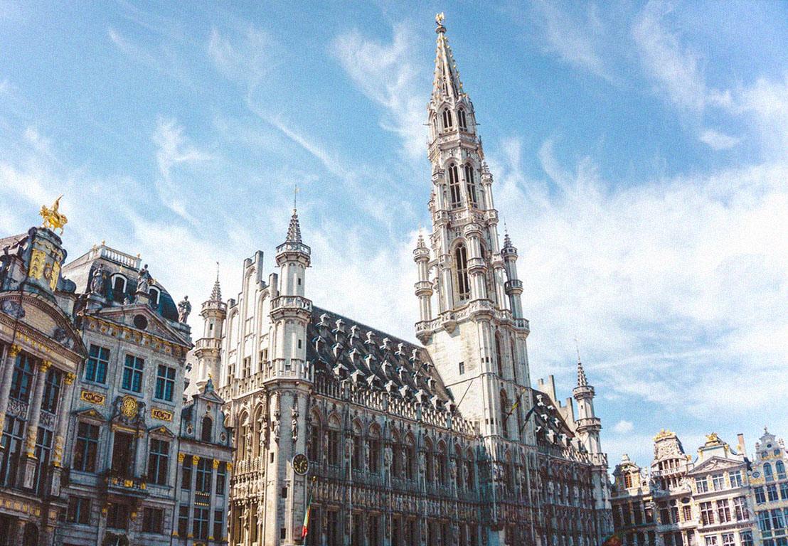 Foto de monumento en Bruselas