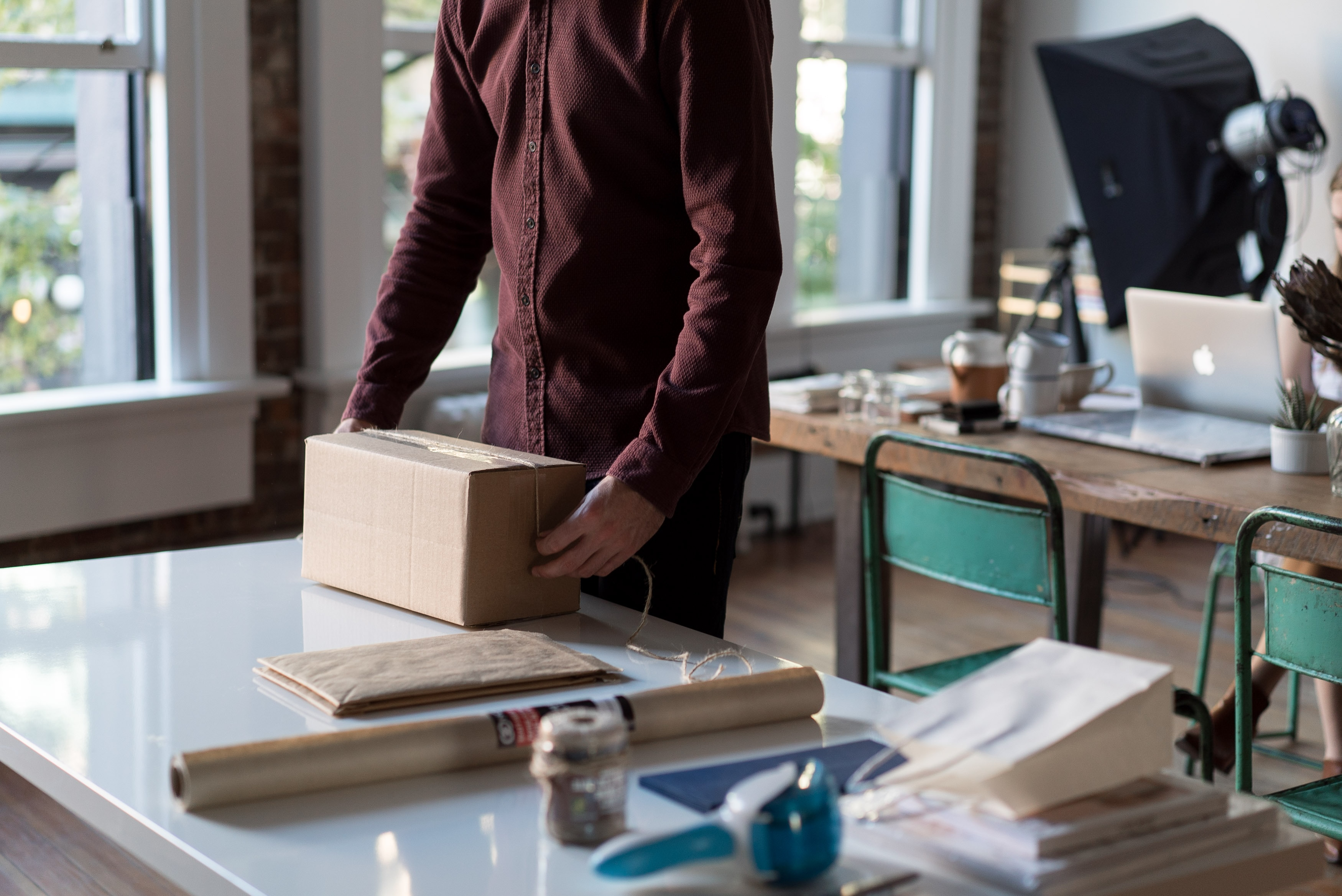Pakete ausliefern im Nebenjob