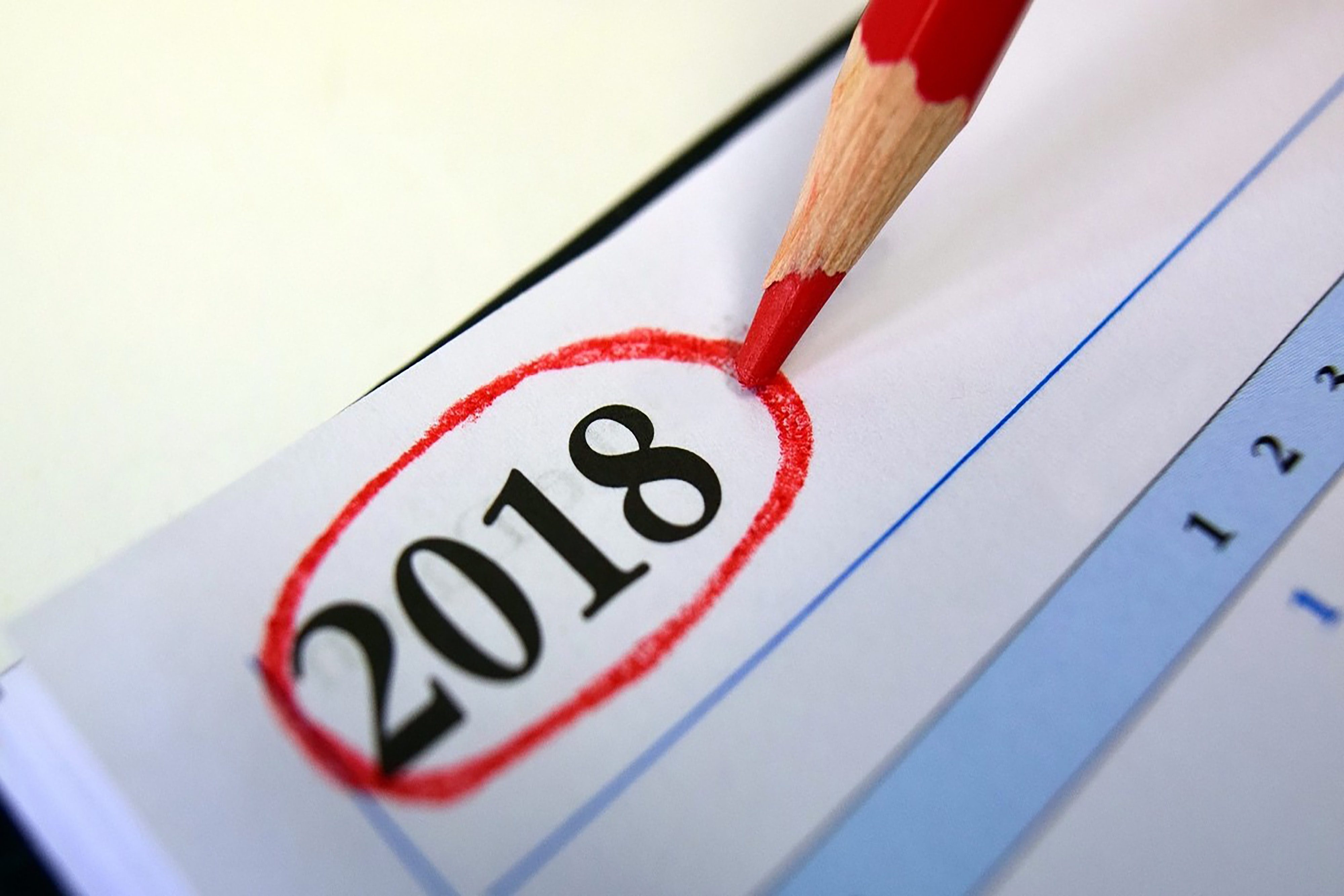 Jahr 2018