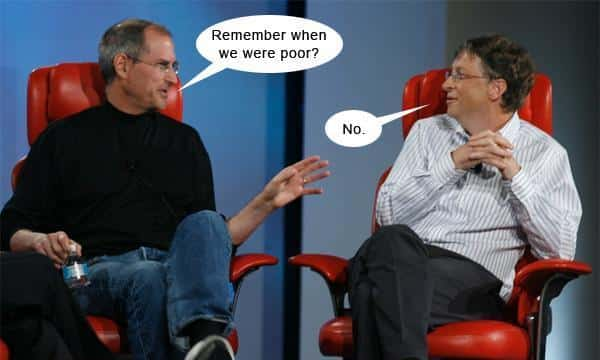 Meme of Steve Jobs
