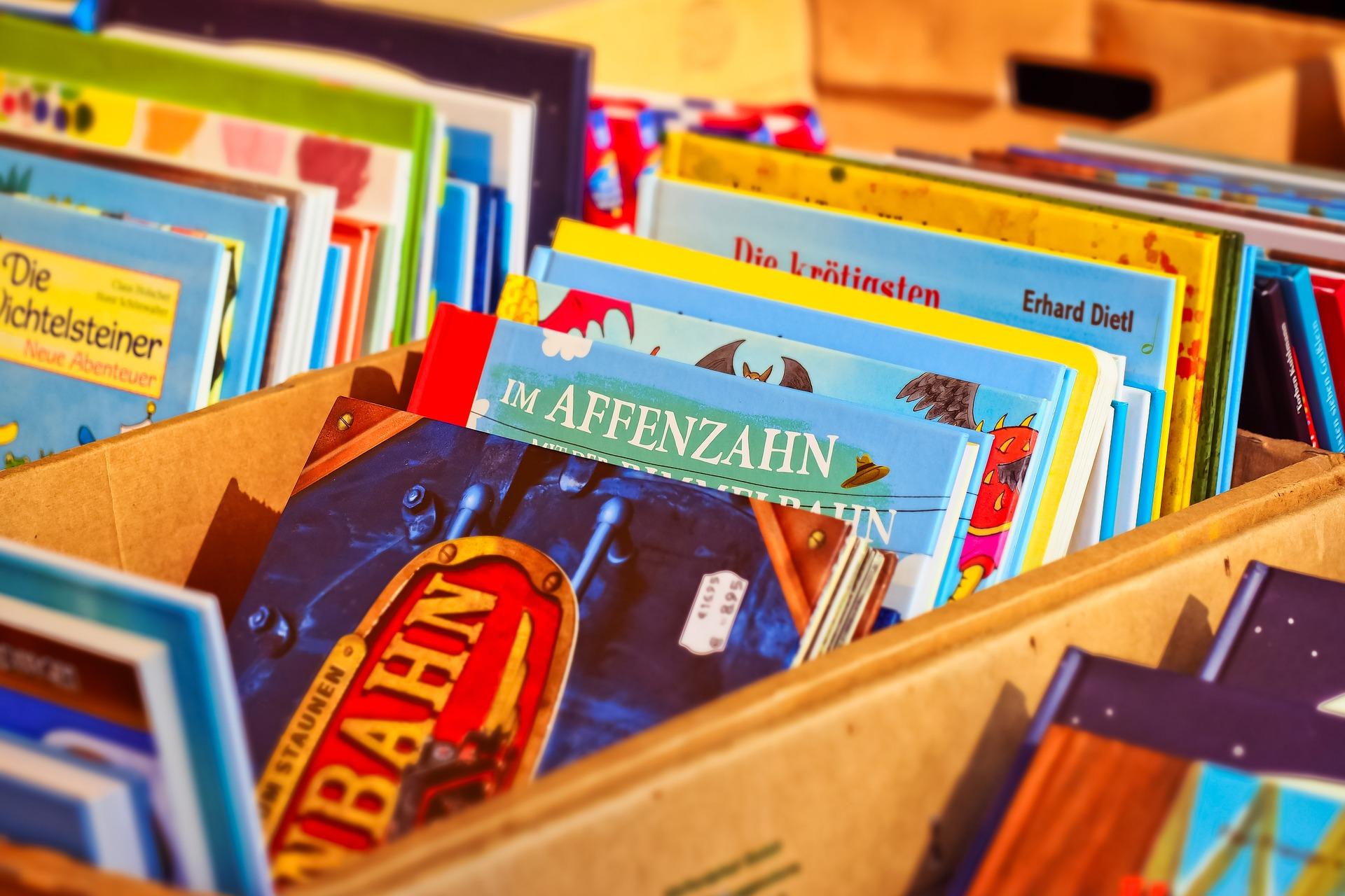 Kinderbücher verkaufen