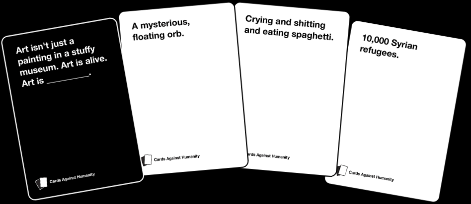 cards againt humanity spel