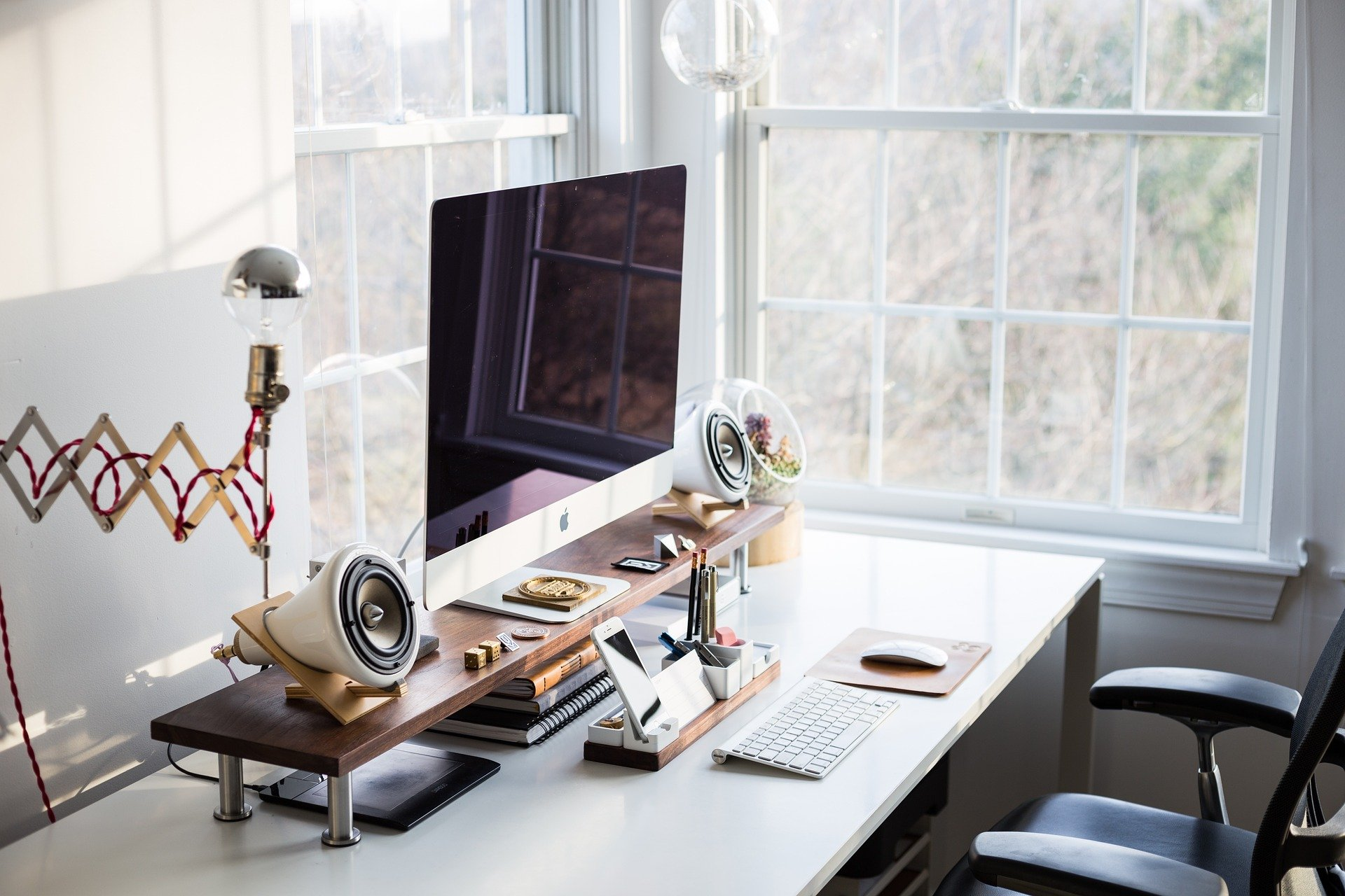 Writing with modern Bildschirm
