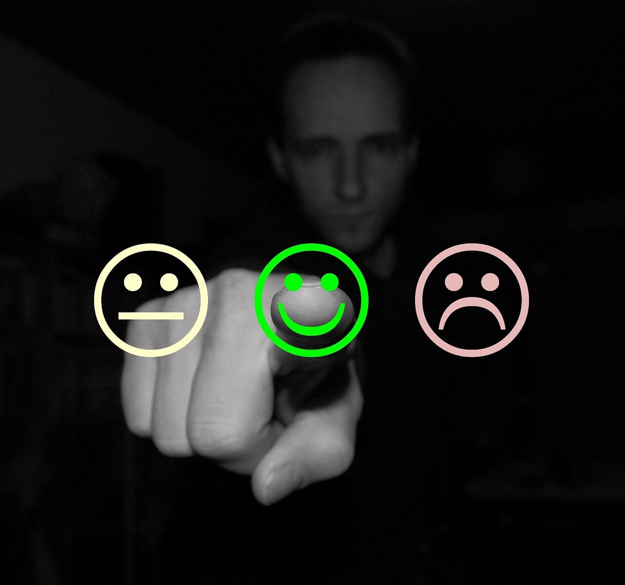 Moderne Meinungsforschung funktioniert einfach: Ein Klick und Ihre Meinung wird erfasst.
