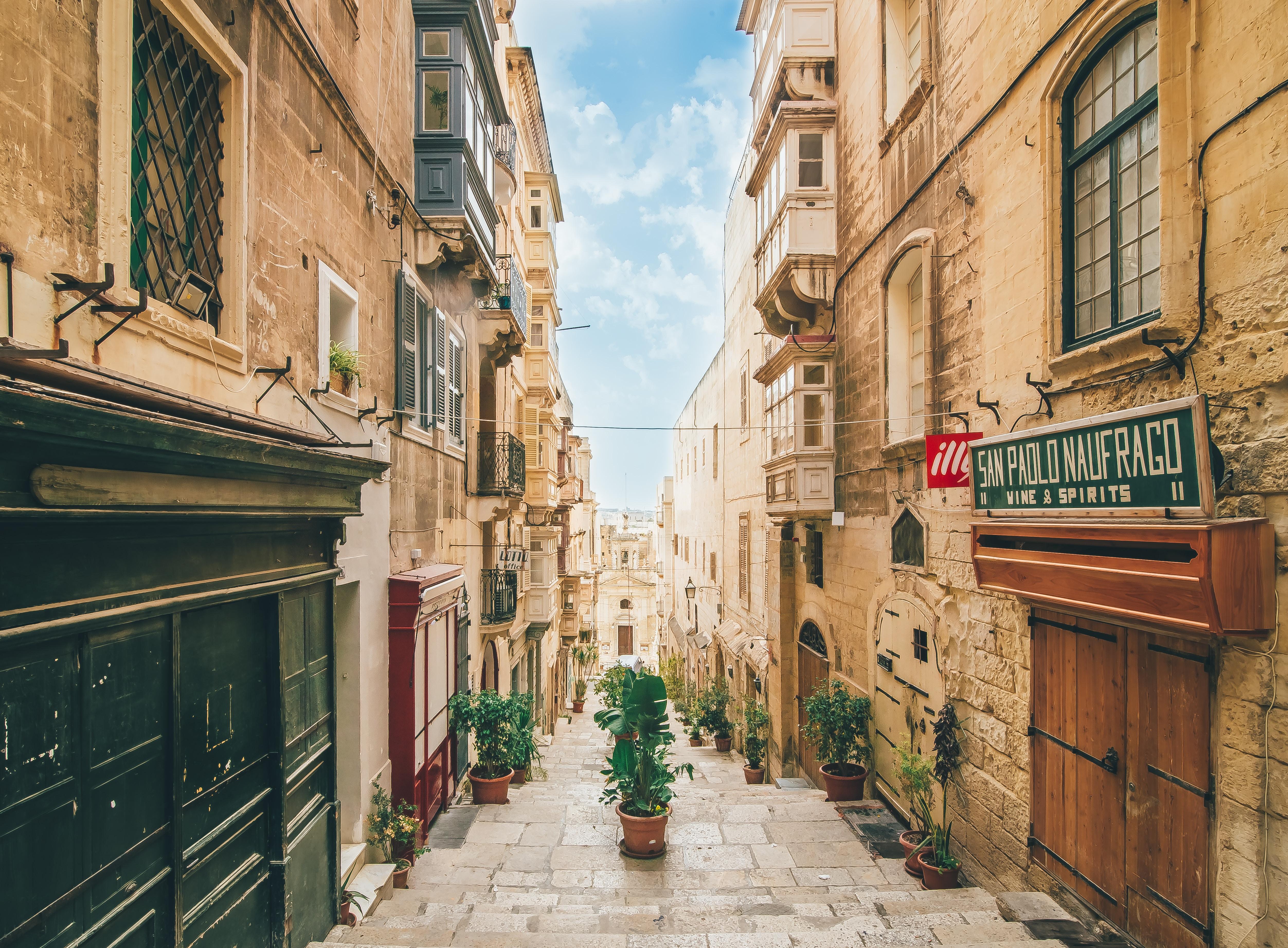 cultura mediterránea en malta