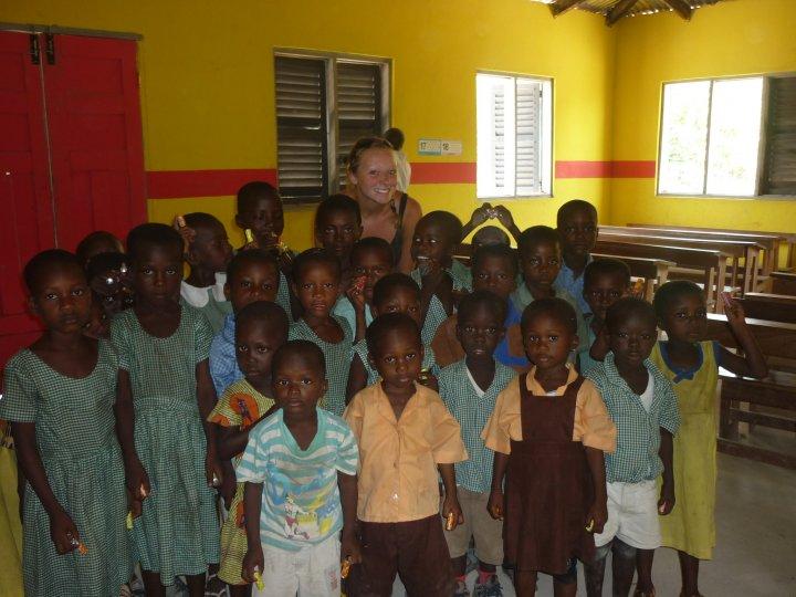 Klas in Ghana
