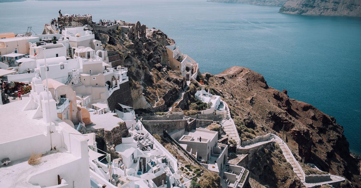 trabajar en Grecia