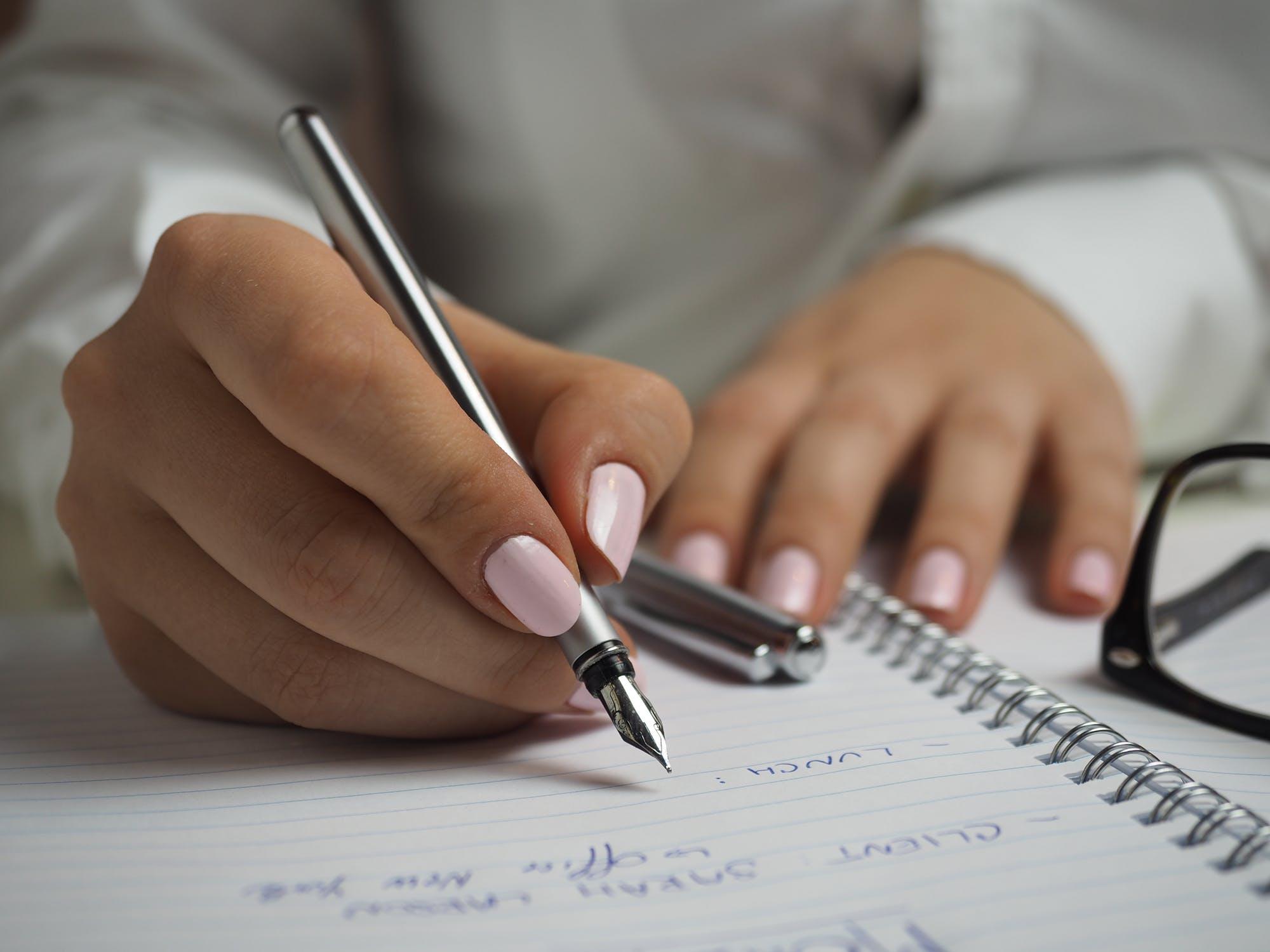 Liste schreiben