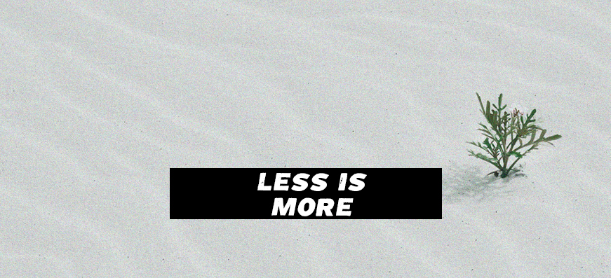 Beim Lebenslauf ist weniger ist mehr
