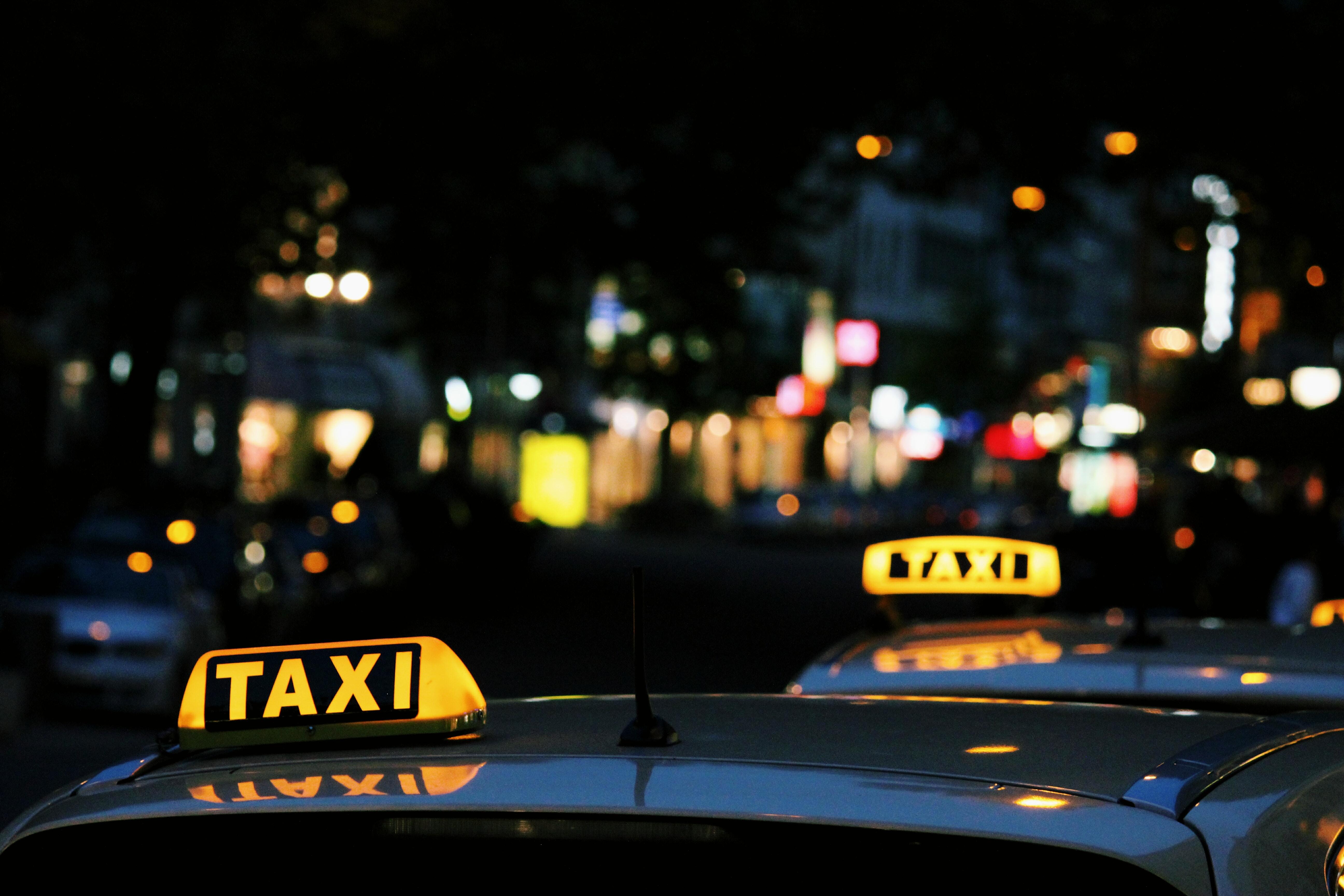 Nebenjob als Taxifahrer