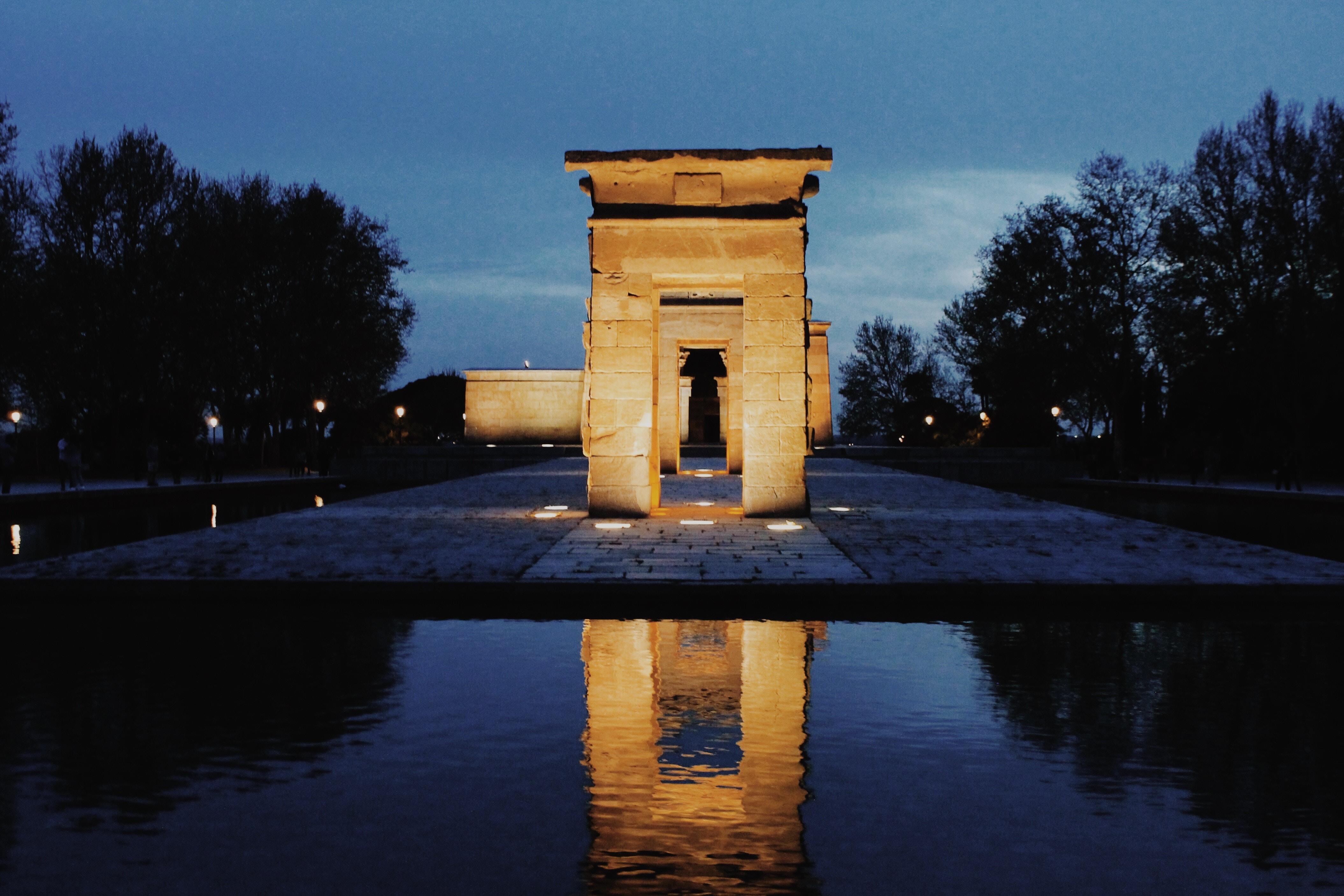 templo debod madrid