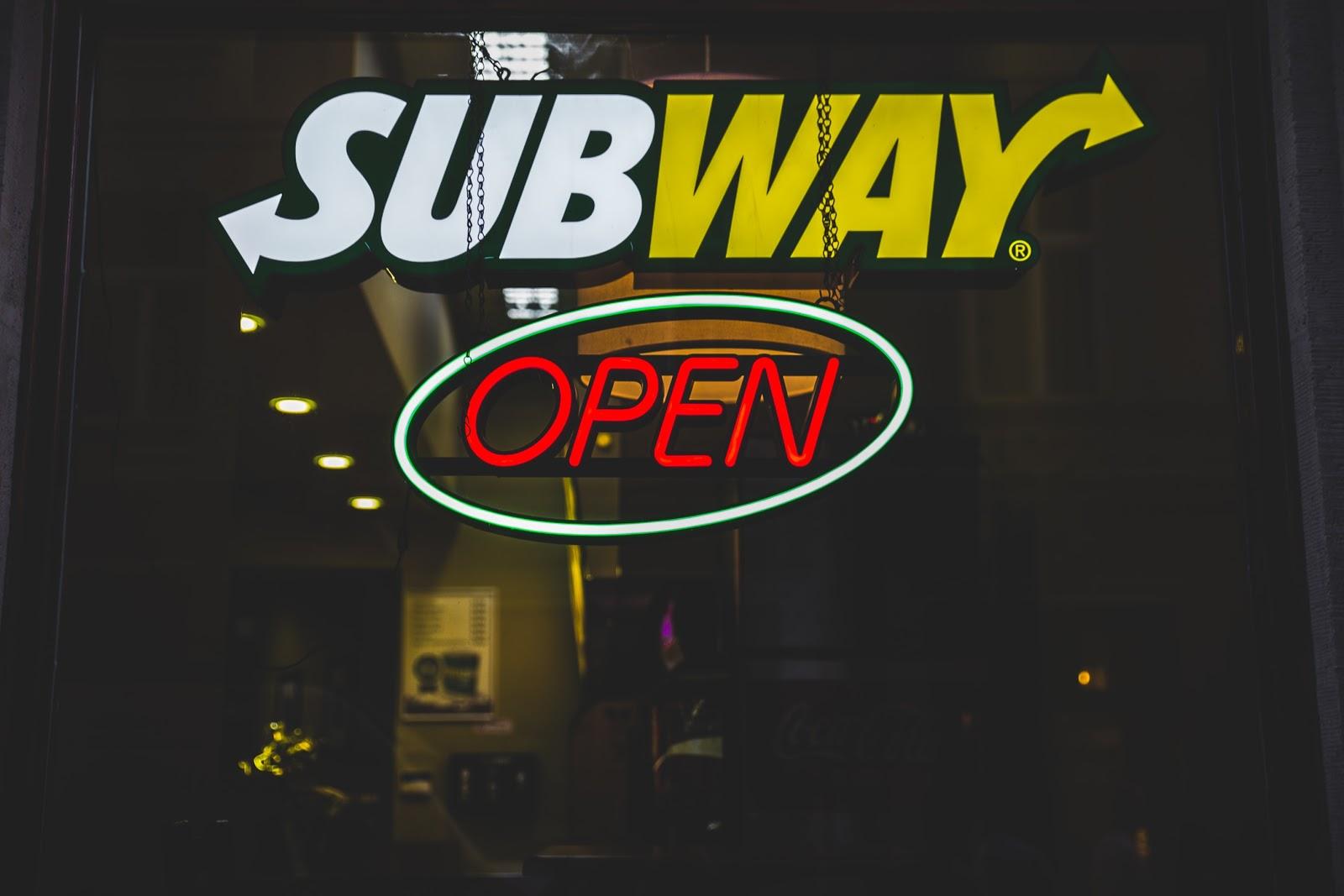Nice Subway Order Form Models Form Ideas 1