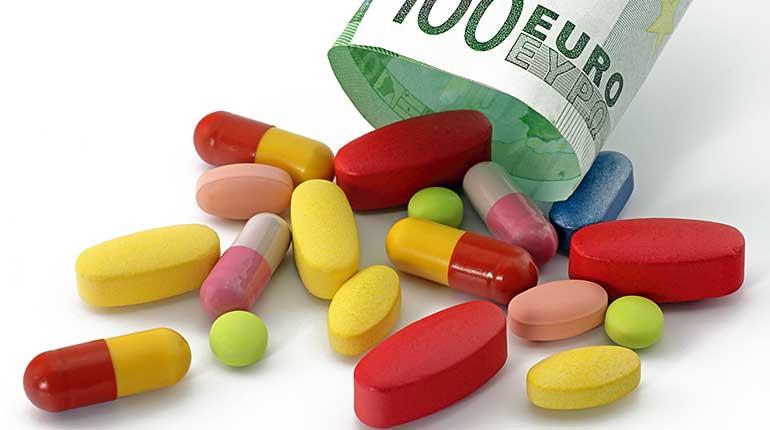 Bild mit verschiedenen Pillen