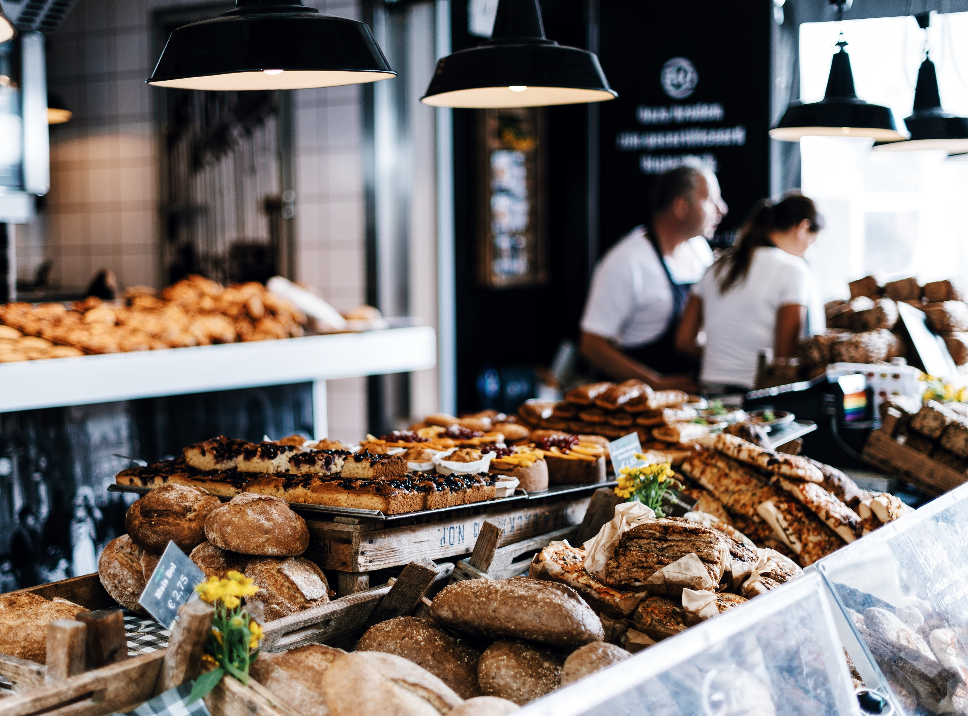 Nebenjob in der Bäckerei