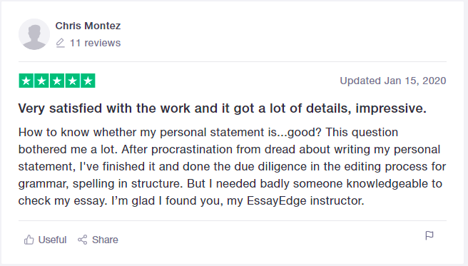 Student review