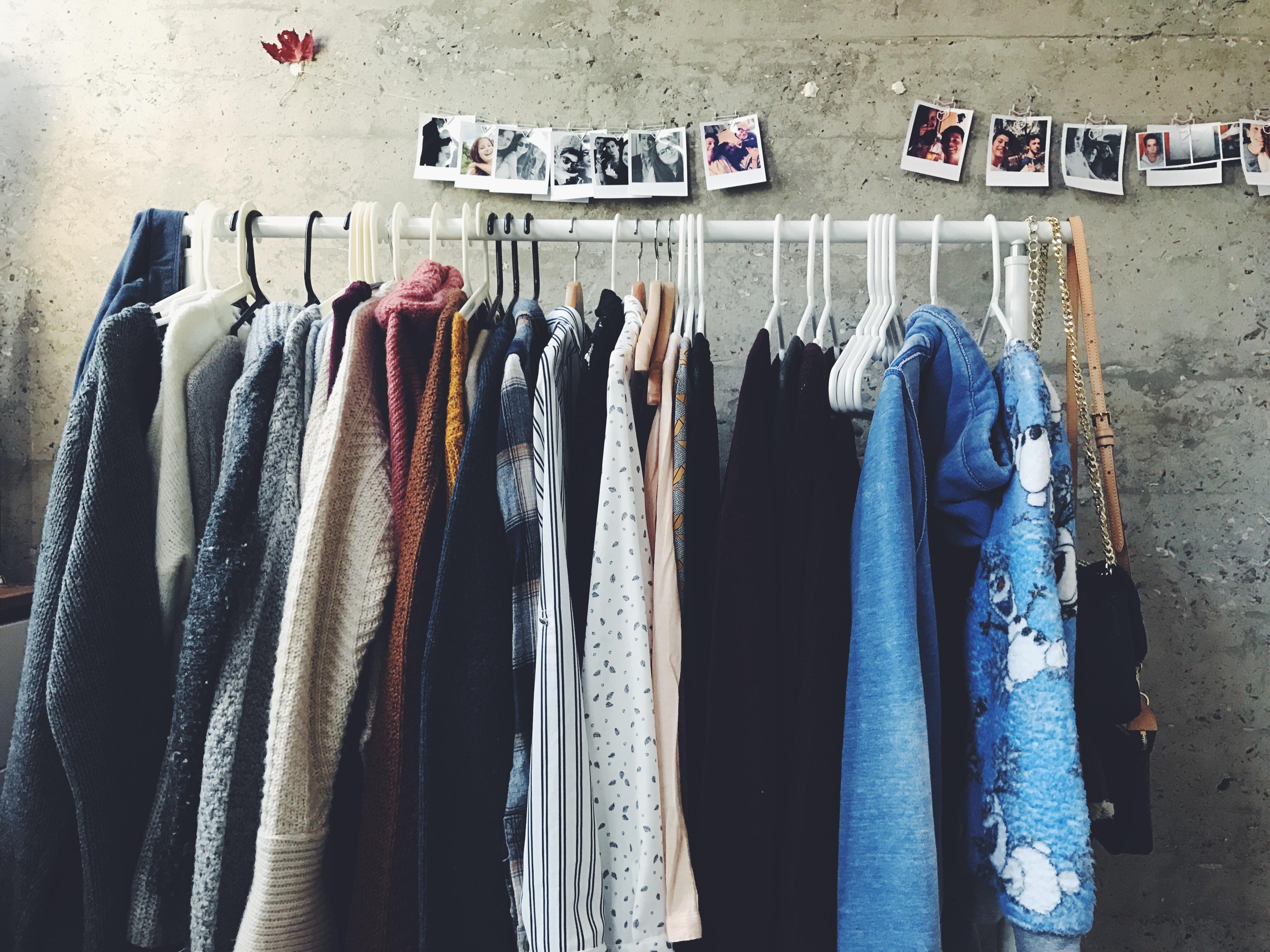 Klamotten verkaufen