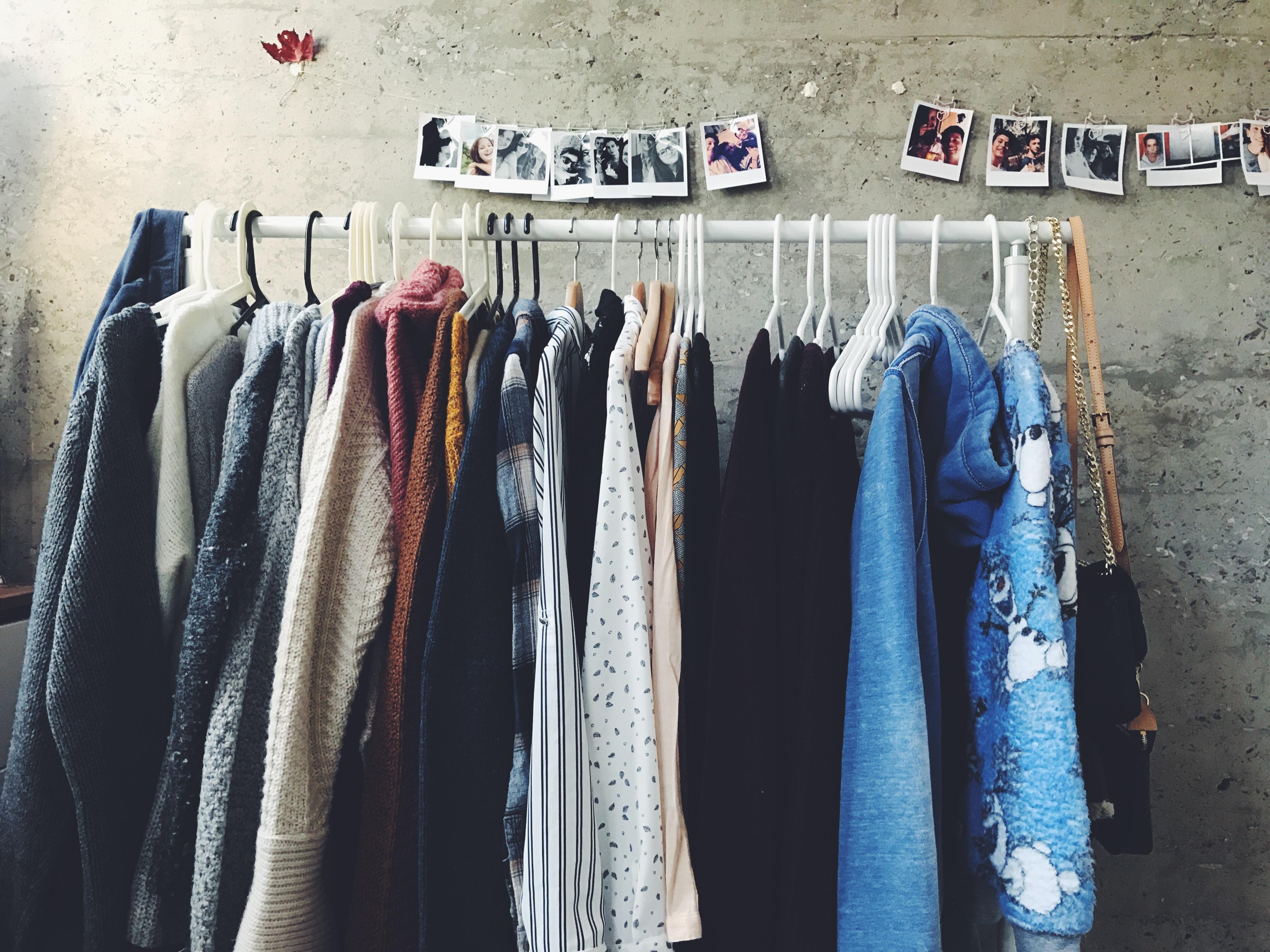 Gebrauchte Kleidung zu Geld machen