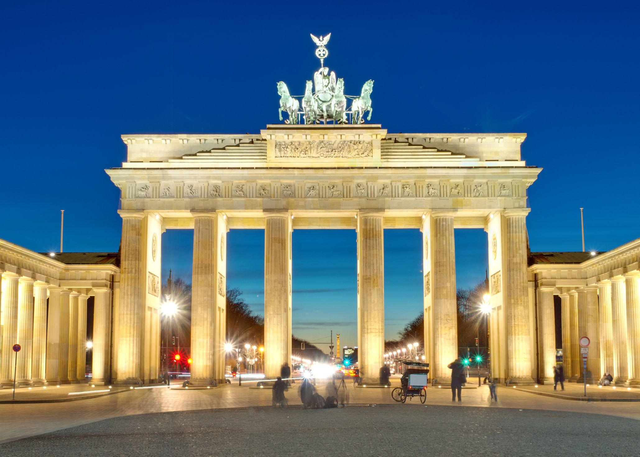 Bild vom Brandenburger Tor in Berlin