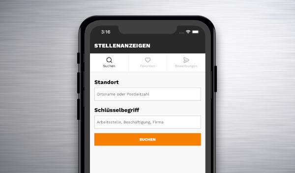 Das Dashboard der YoungCapital App ist auf einem Handy offen
