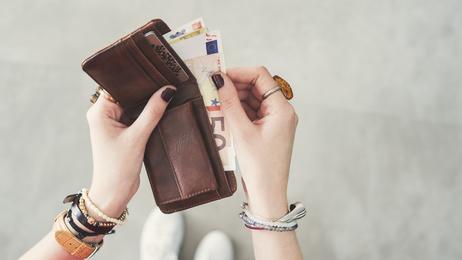 Hand und Geld