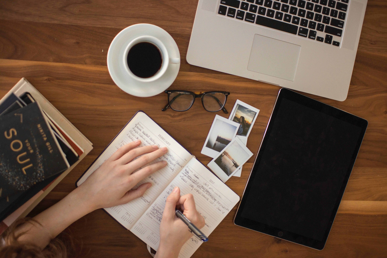 thuis werken of studeren