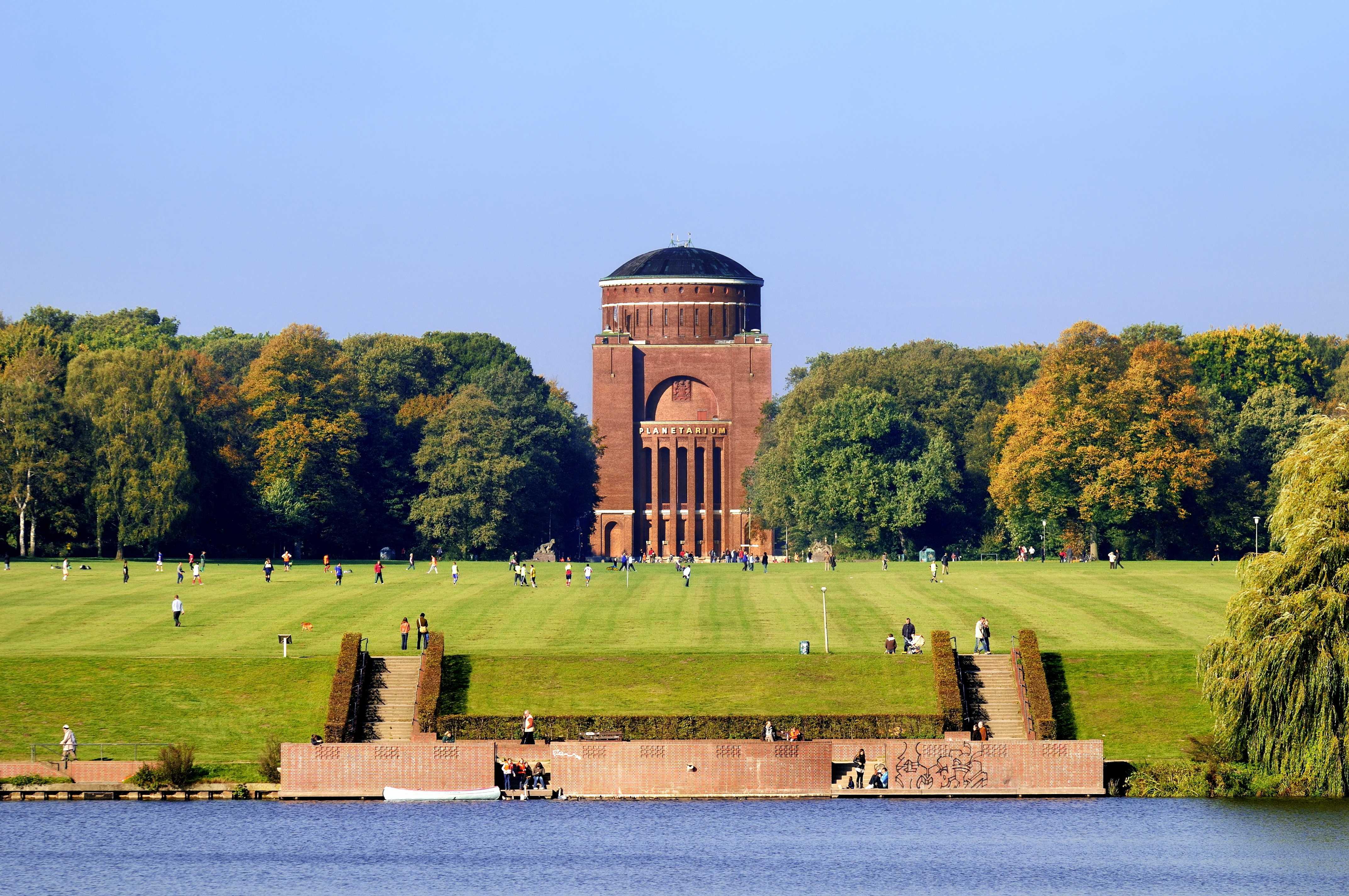 Das Planetarium im Stadtpark in Hamburg