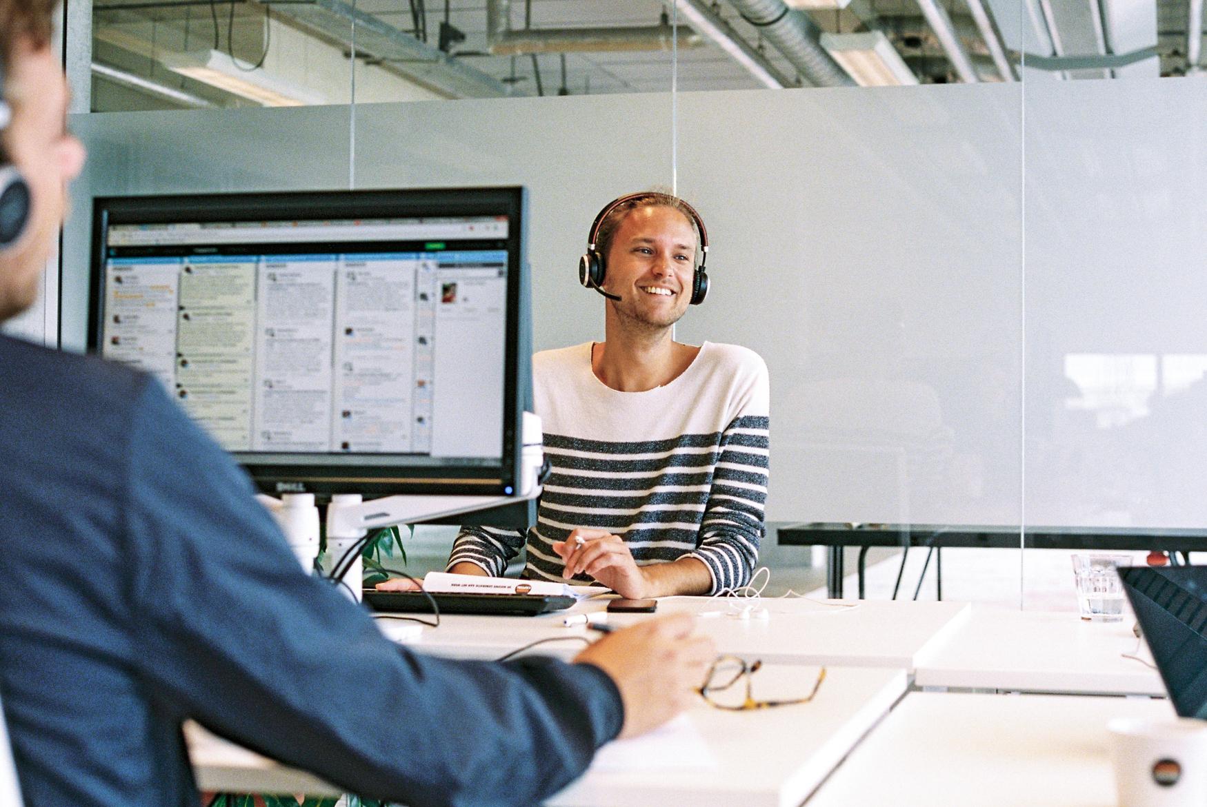 Werkstudent als Kundenservicemitarbeiter